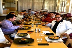 akhlaq-ramay-hosted-lunch-in-hotel-crowne-plaza-newcastle