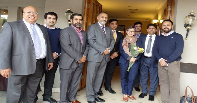 PABC & PAA hosted a Lunch for the Australian High Commissioner to Pakistan